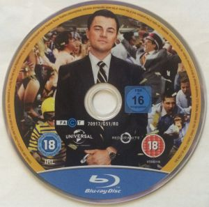 The Wolf of Wall Street Disk