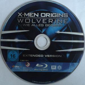 X-Men Origins Wolverine Disk