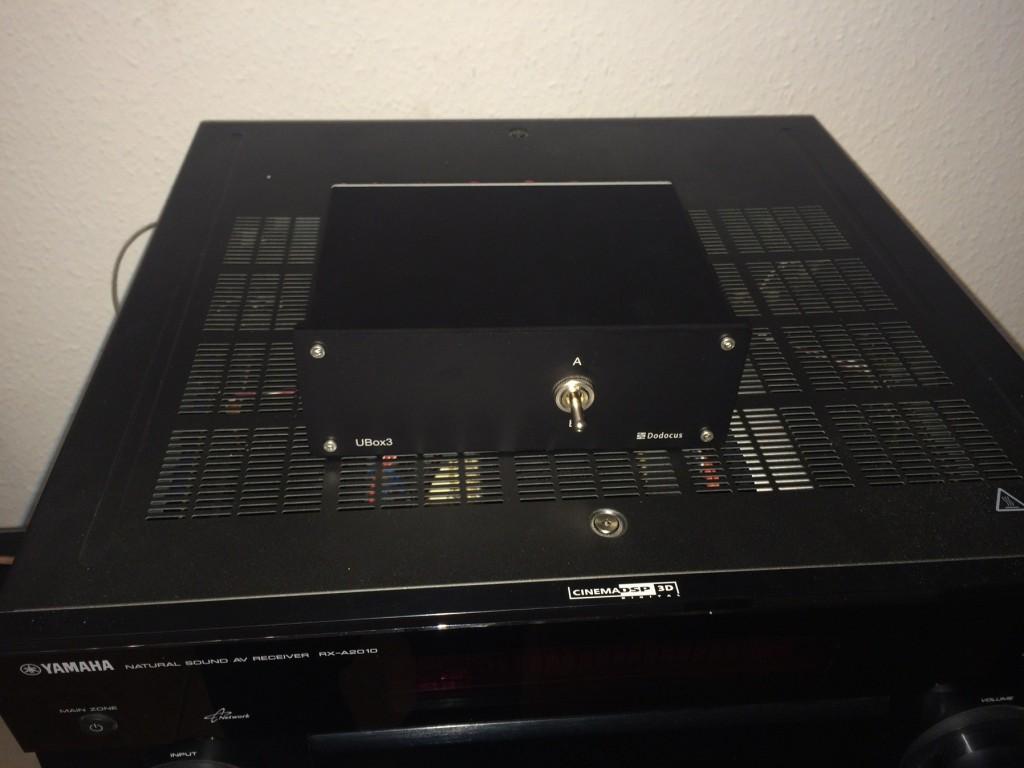 Ubox 3 auf AV-Receiver