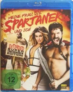Meine Frau, die Spartaner und ich Front