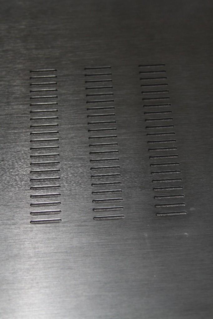 Luftschlitze im Detail