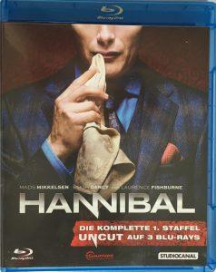 Hannibal Season 1 Front