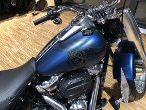 Nahaufnahme Harley-Davidson Motorrad