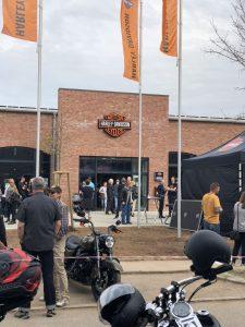 Eingangsbereich Harley-Davidson Schwäbisch Gmünd