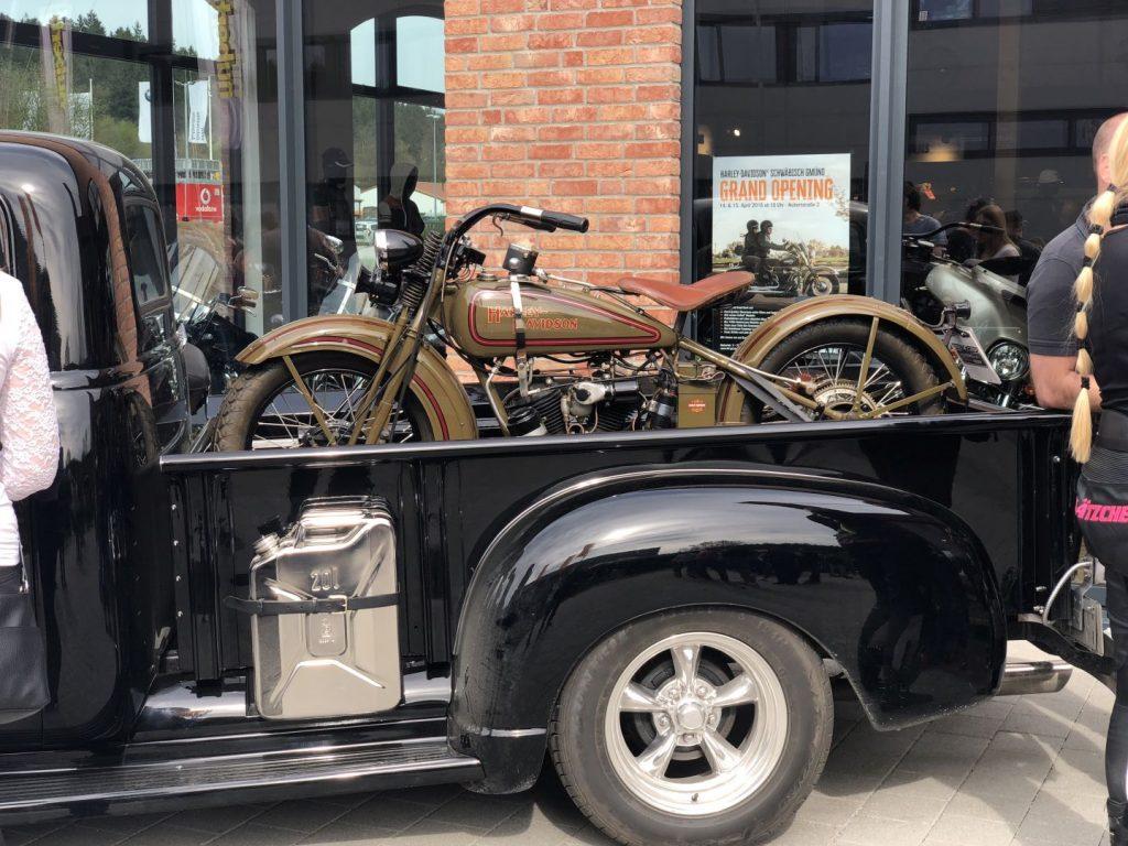 historische Harley-Davidson Schwäbisch Gmünd