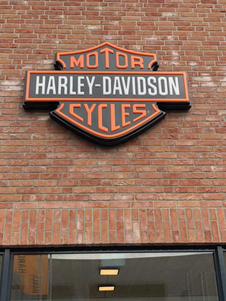 Harley-Davidson Logo Schwäbisch Gmünd