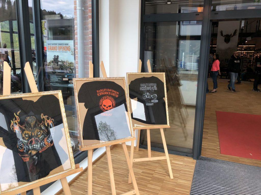 T-Shirts von Harley-Davidson Schwäbisch Gmünd
