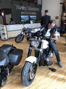 Besucher auf Harley-Davidson Schwäbisch Gmünd