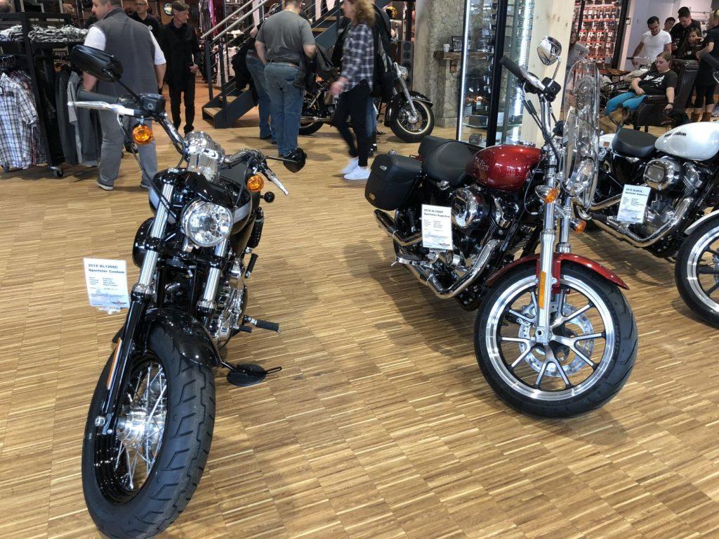 Die XL 1200 Modelle von Harley-Davidson Schwäbisch Gmünd